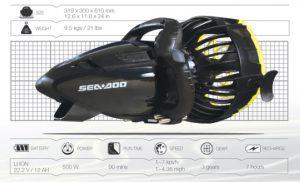 Sea-Doo Seascooter RS1 Specs